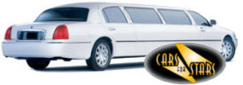 Limo Hire Sheffield - Cars for Stars (Sheffield) offering white, silver, black and vanilla white limos for hire